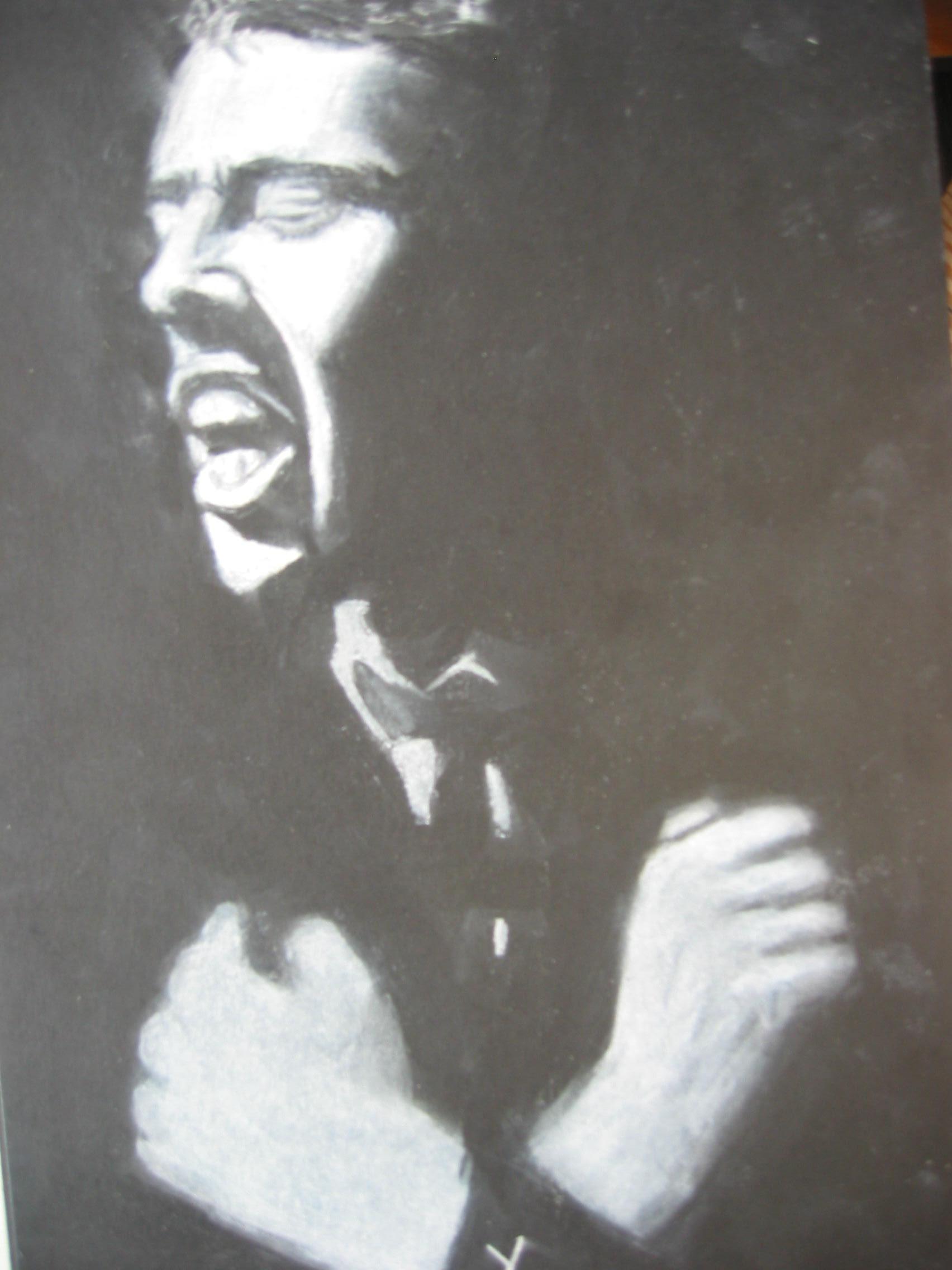 Lionel De Barros Dessins Et Peintures Crayon Blanc Sur Papier Noir